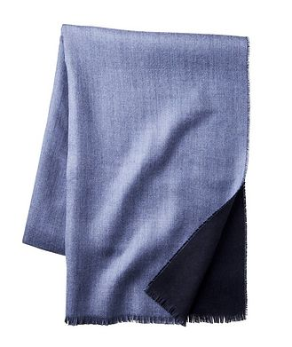 Johnstons of Elgin Fringed Cashmere Scarf