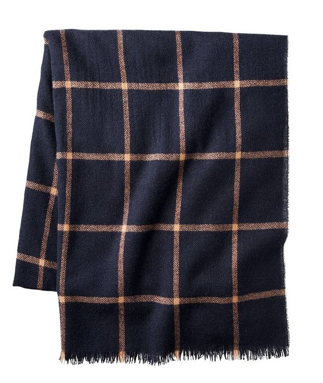 Fringed Cashmere Throw picture 1