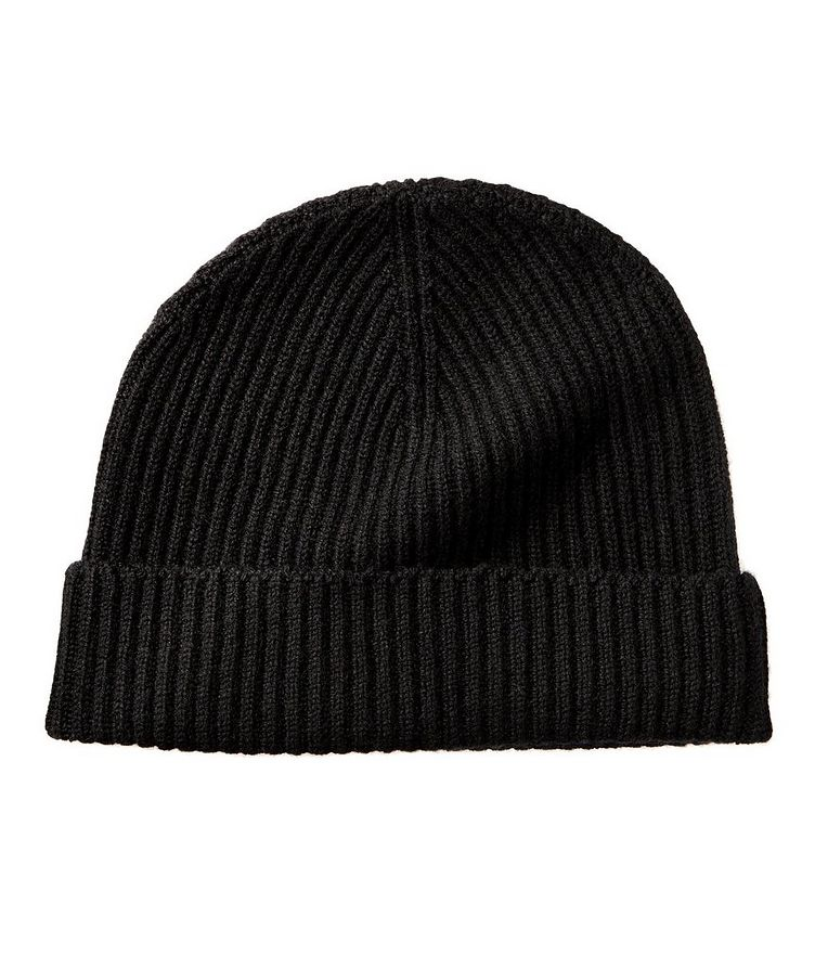 Ribbed Cashmere Toque image 0