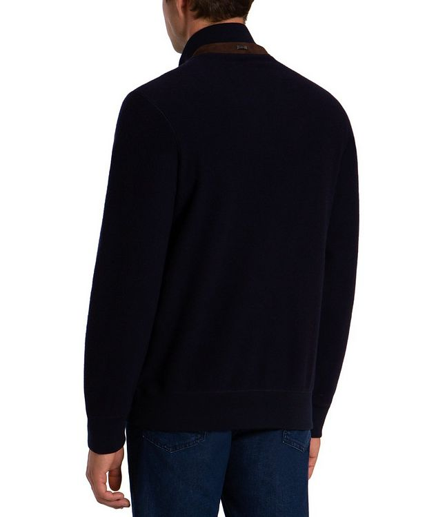 Wool-Cashmere Bomber picture 2