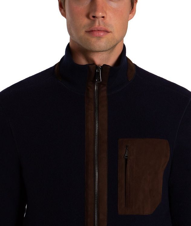 Wool-Cashmere Bomber picture 3