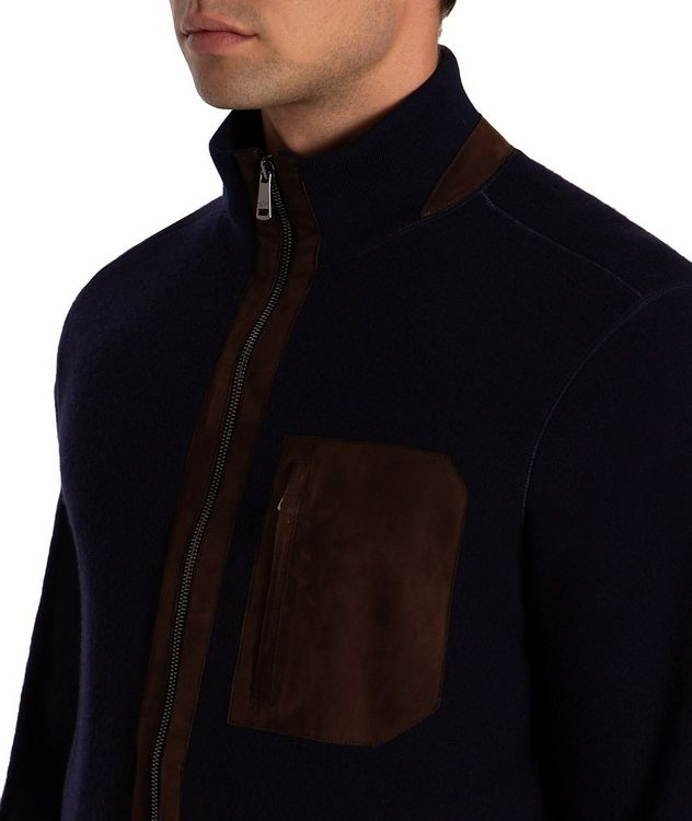 Wool-Cashmere Bomber picture 4