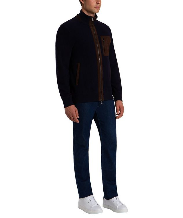 Wool-Cashmere Bomber picture 5