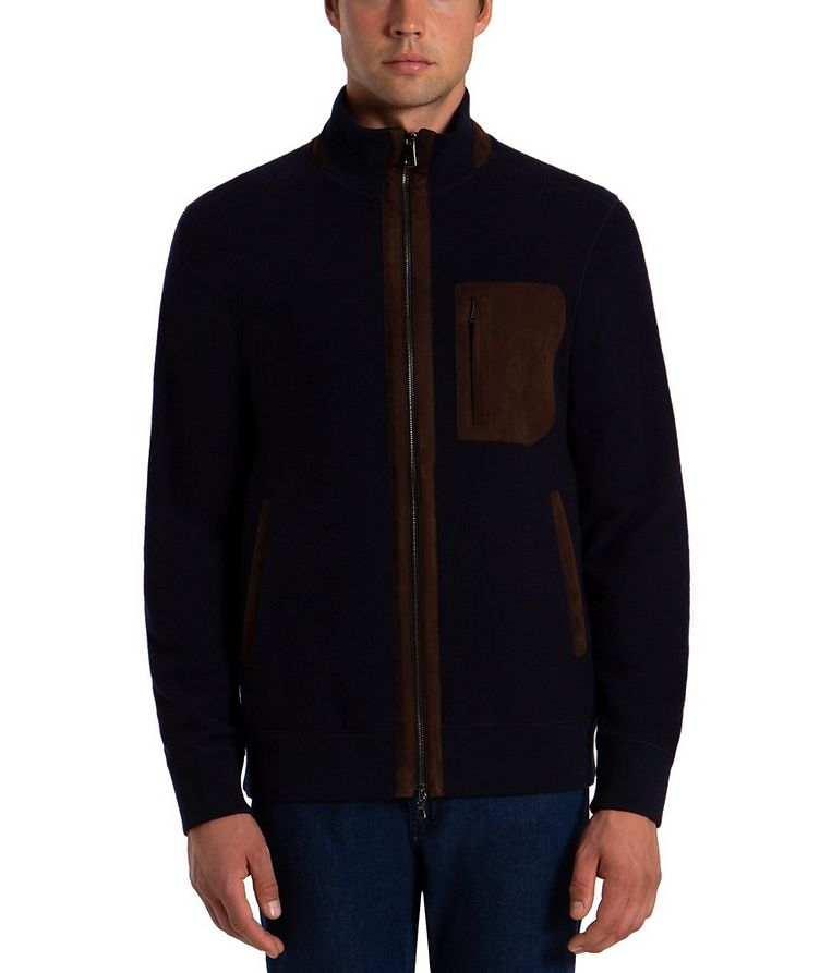 Wool-Cashmere Bomber image 0