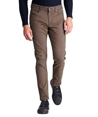 Ermenegildo Zegna Tailored Fit Stretch Cotton Jeans