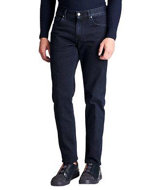 Ermenegildo Zegna Jean en coton extensible de coupe tailleur