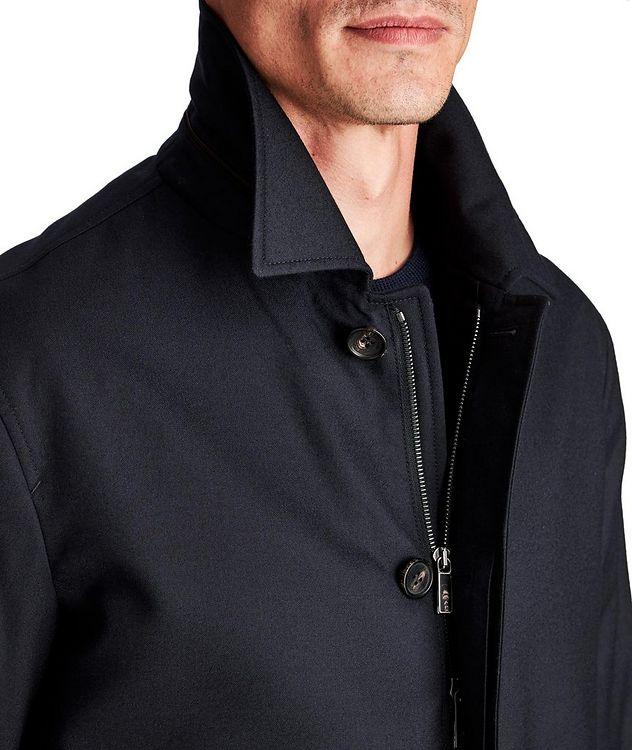 Water-Repellent Wool Coat picture 3