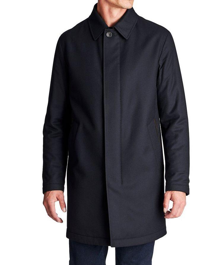 Water-Repellent Wool Coat image 0