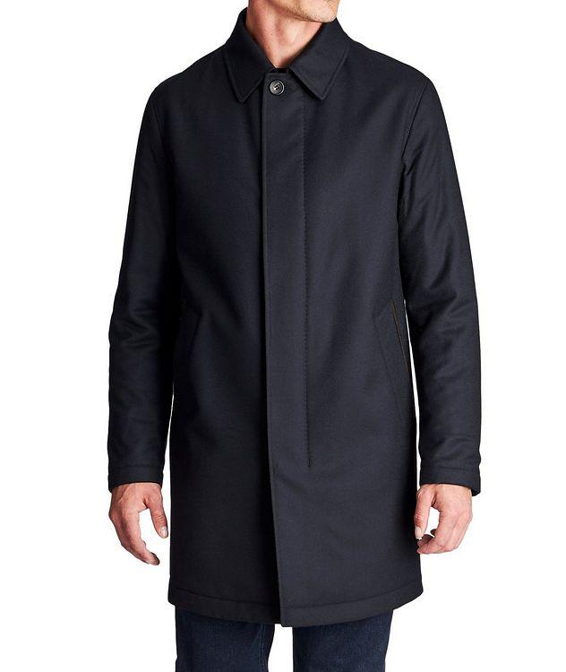 Water-Repellent Wool Coat picture 1