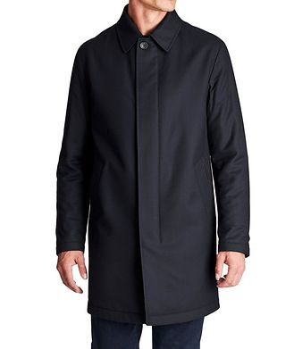 Ermenegildo Zegna Water-Repellent Wool Coat