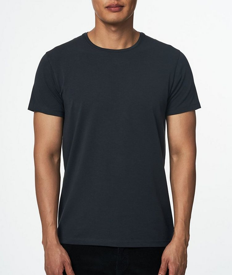 Stretch Pima Cotton T-Shirt  image 1