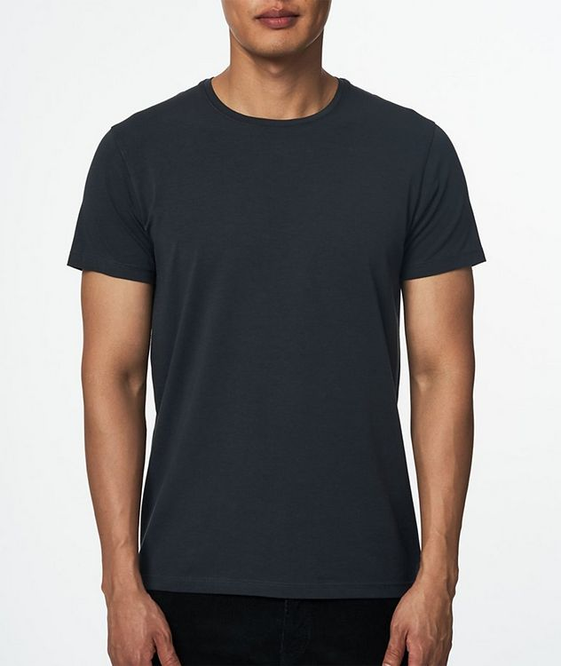 Stretch Pima Cotton T-Shirt  picture 2