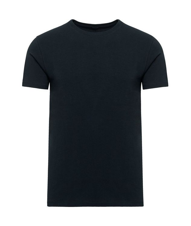 Stretch Pima Cotton T-Shirt  picture 1