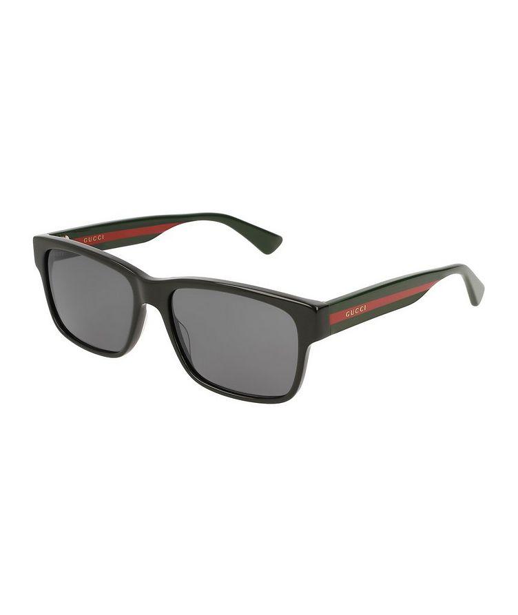 Rectangular Acetate Sunglasses image 0
