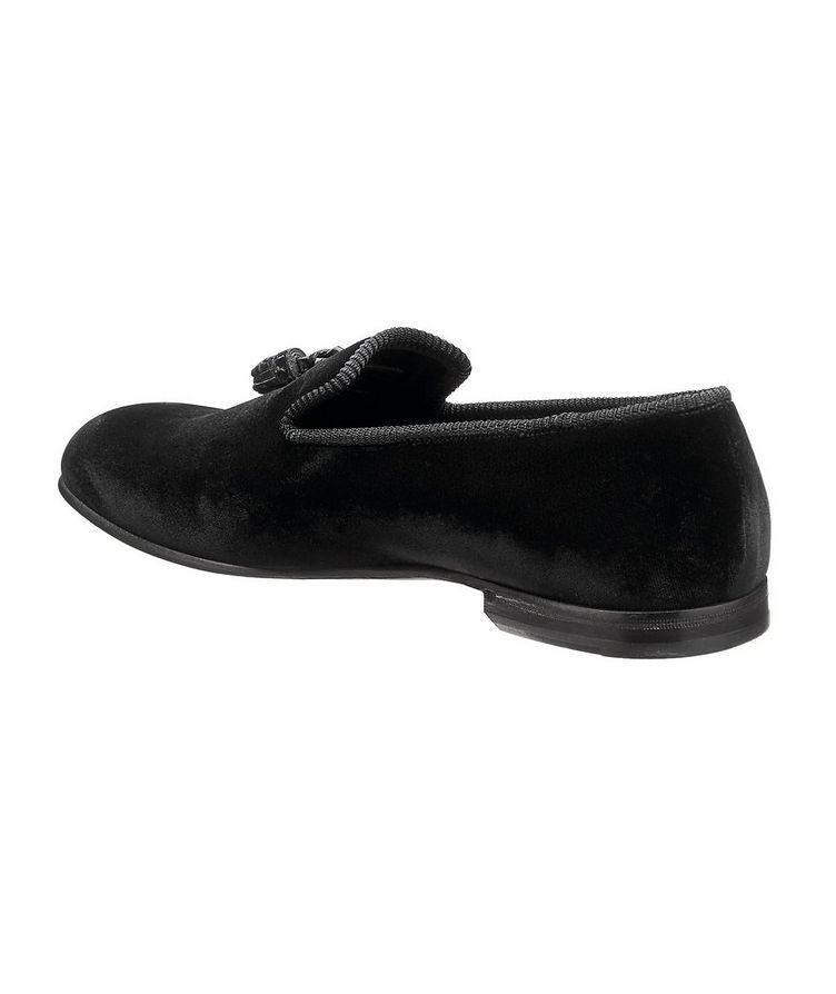 Velvet Tassel Loafers image 1