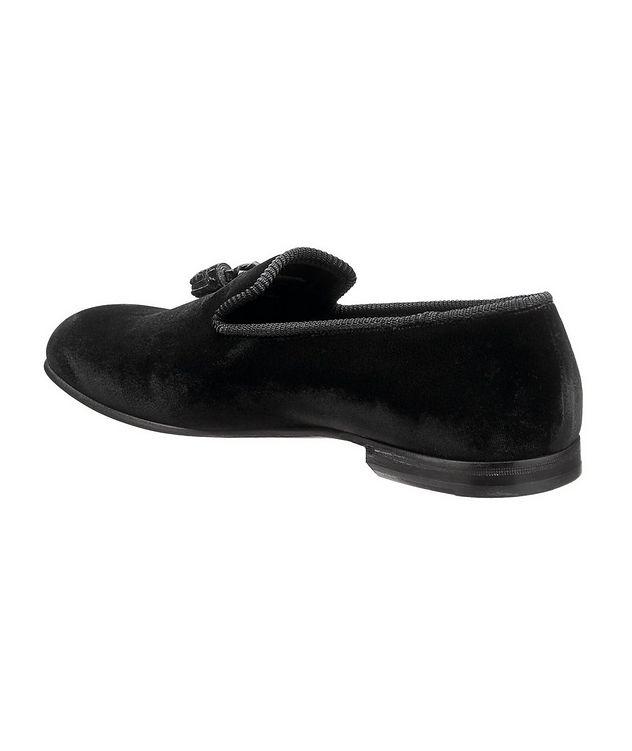 Velvet Tassel Loafers picture 2