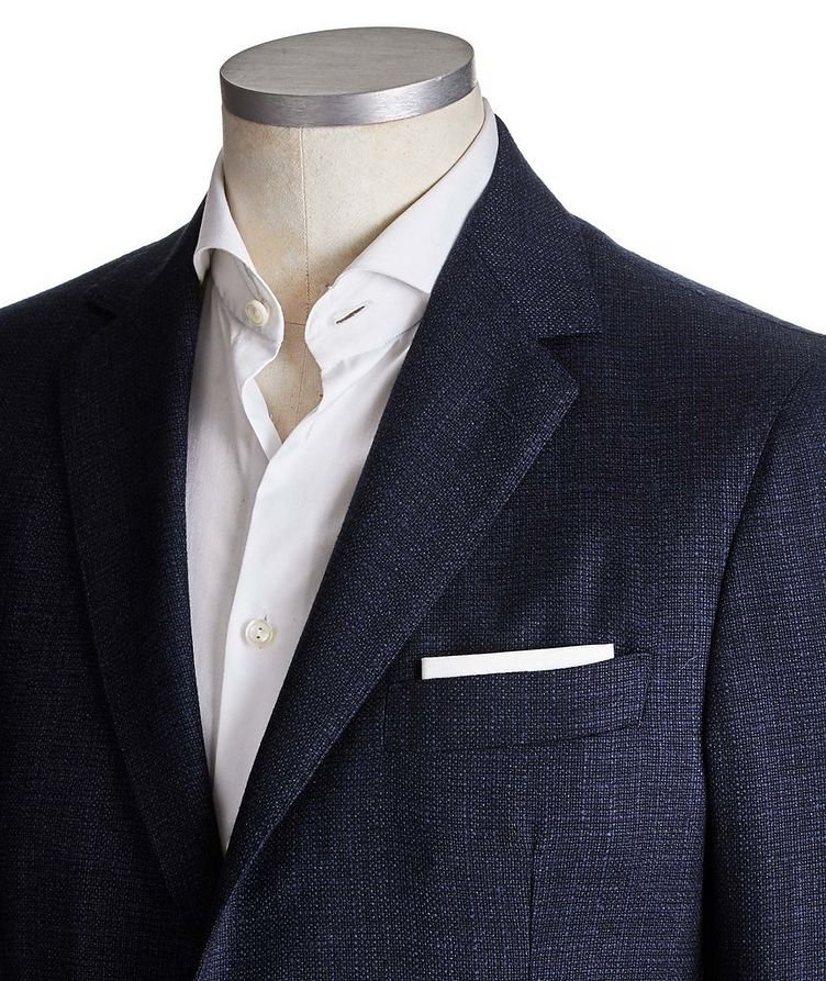 Unstructured Virgin Wool Sports Jacket image 1