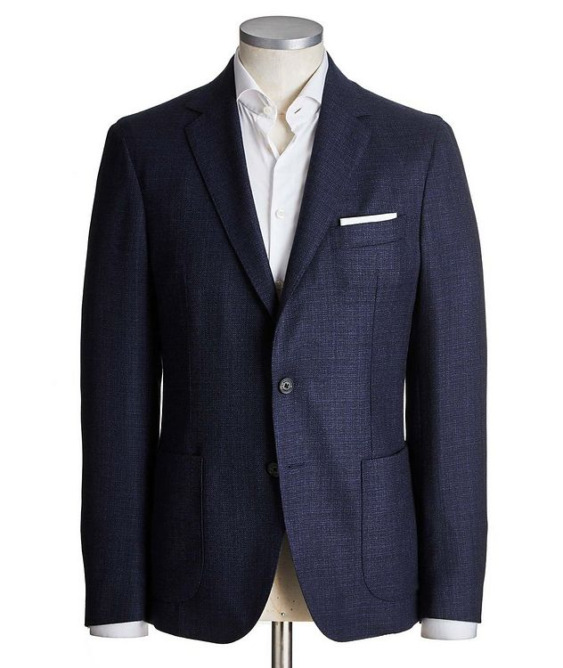 Unstructured Virgin Wool Sports Jacket picture 1