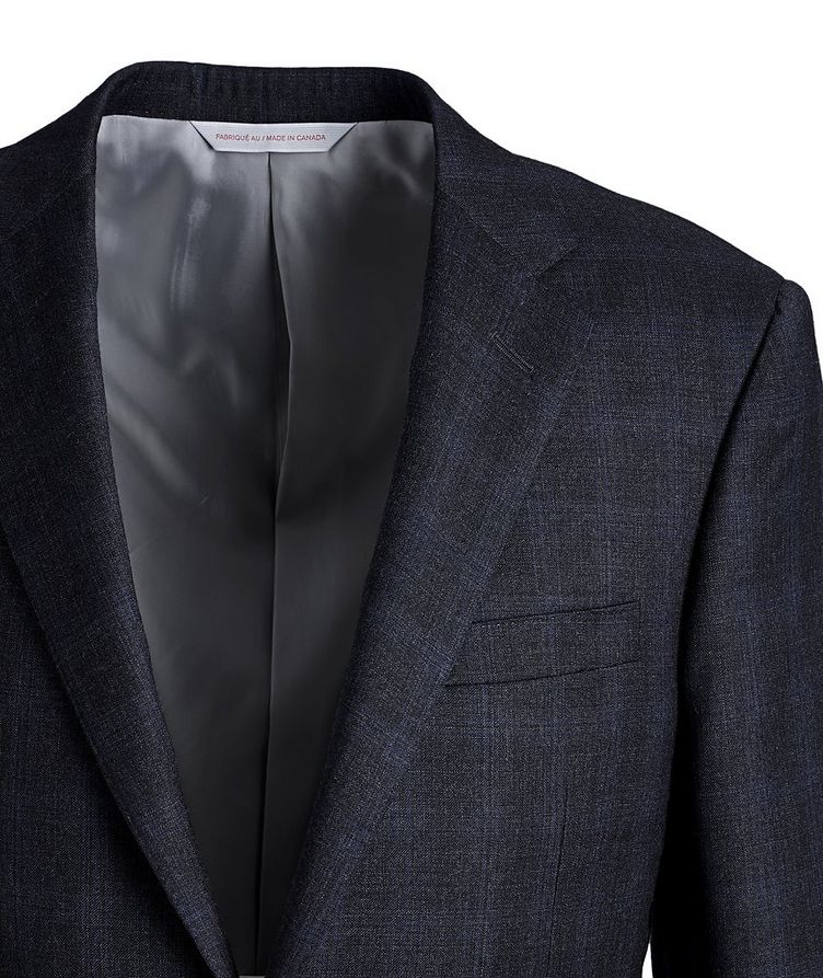 Cosmo Checked Wool Suit image 1
