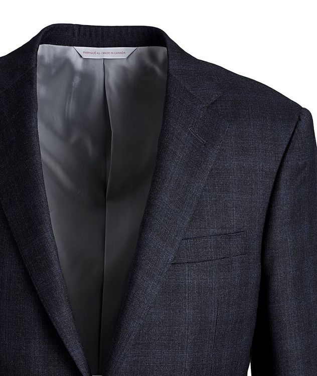 Cosmo Checked Wool Suit picture 2