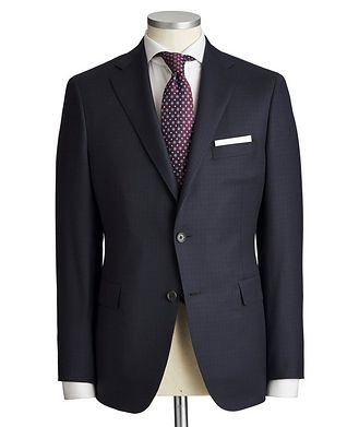 Samuelsohn Madison Checkered Suit