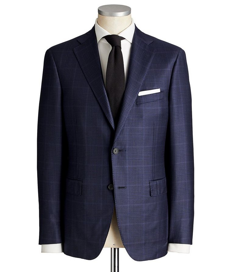 Madison Glen Checked Suit image 0