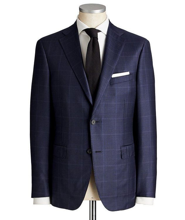 Madison Glen Checked Suit picture 1