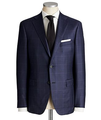 Samuelsohn Madison Glen Checked Suit