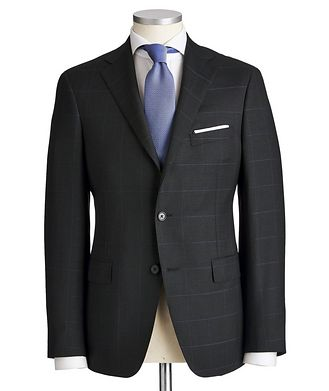 Samuelsohn Madison Windowpane Suit