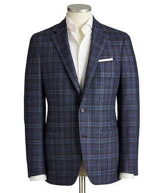 Samuelsohn Cosmo Wool-Silk Sports Jacket