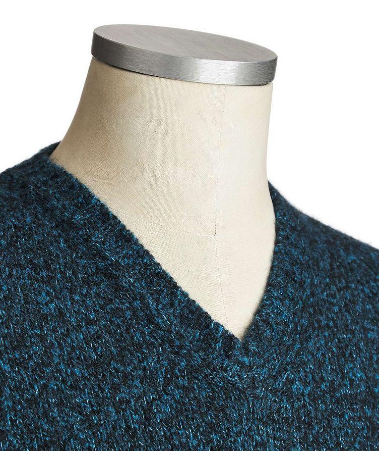V-Neck Cashmere-Silk Sweater image 1
