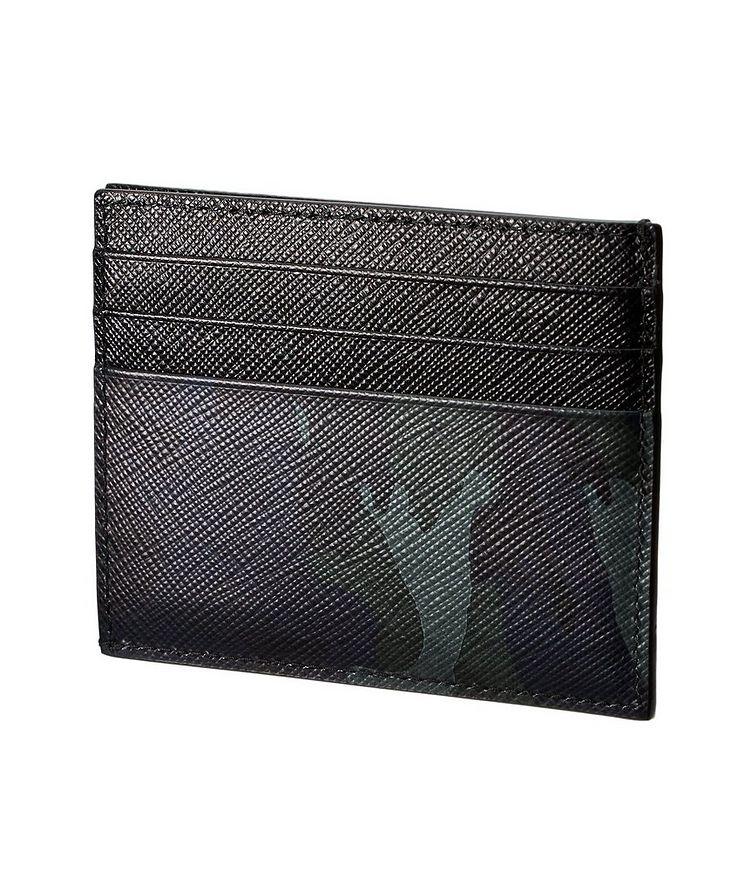 Camouflage Saffiano Calfskin Cardholder image 1