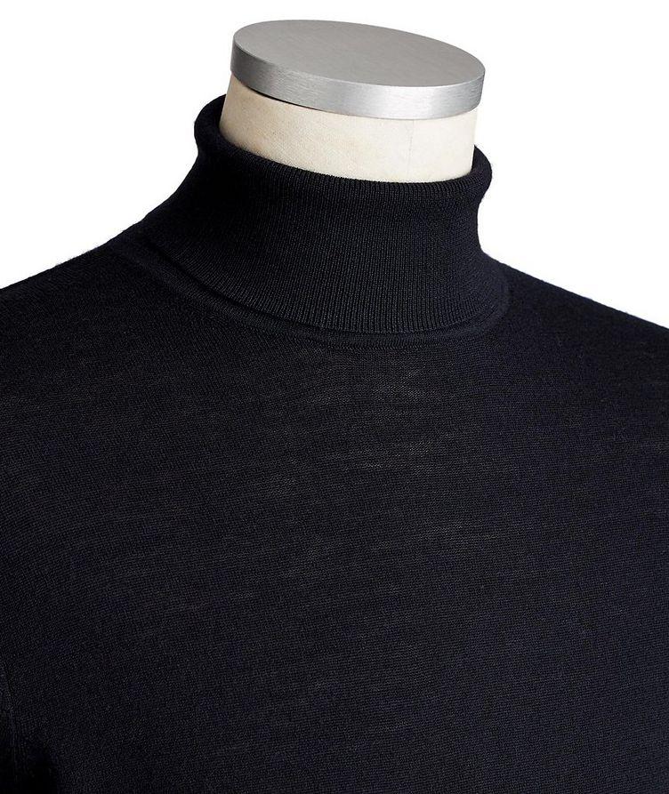 Pull en laine mérinos extrafine à col roulé image 1