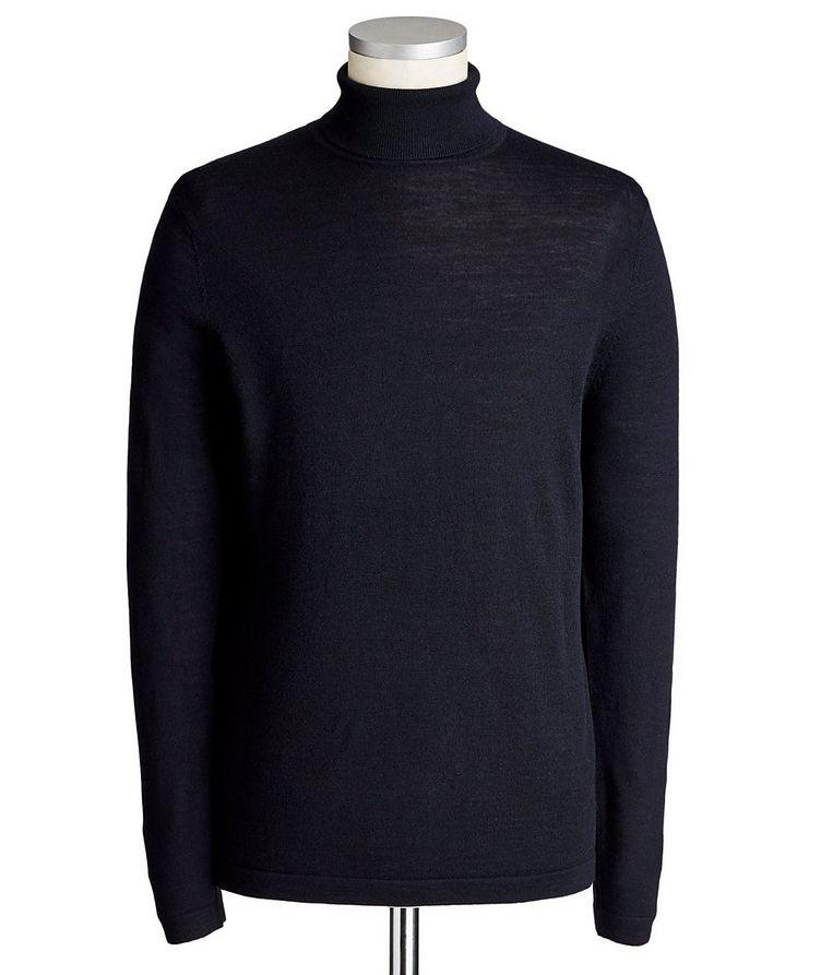 Pull en laine mérinos extrafine à col roulé image 0