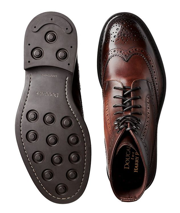 Leather Wingtip Boots picture 3