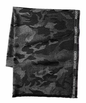 Canada Goose Camouflage Merino Wool Scarf