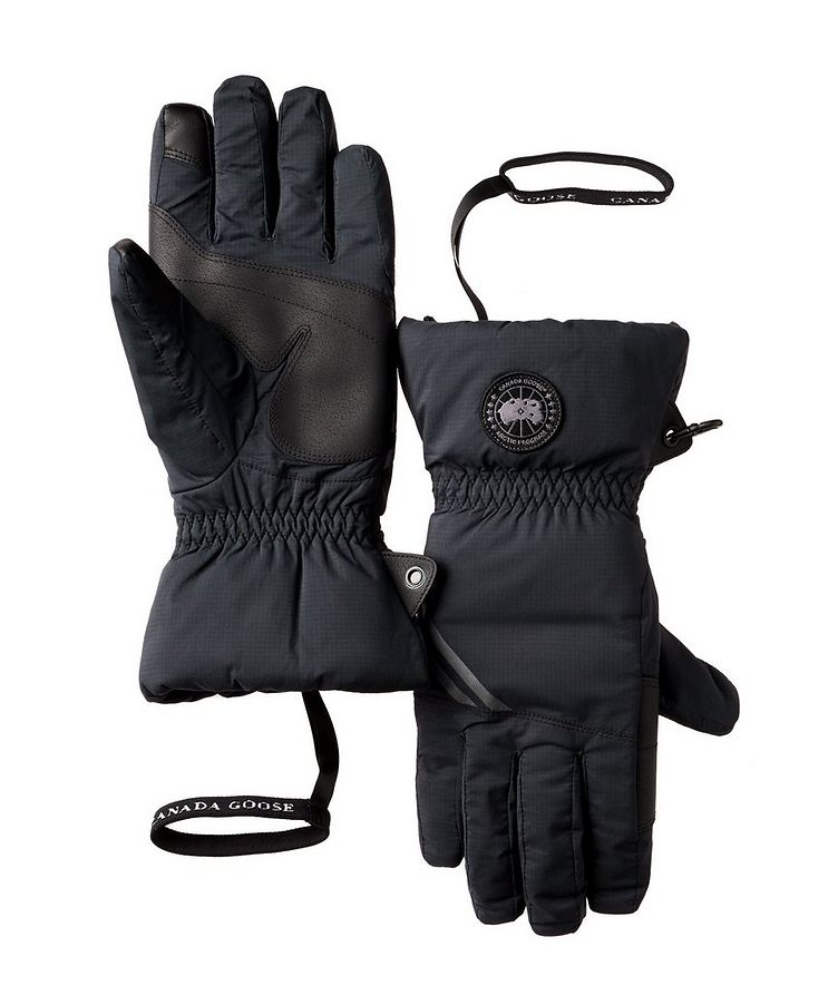 Hybridge Water-Repellent Down-Filled Gloves image 0