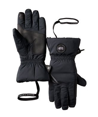 Canada Goose Hybridge Water-Repellent Down-Filled Gloves