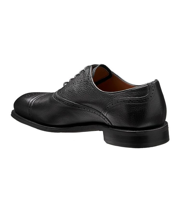 Cap-Toe Deerskin Oxford Brogues image 1