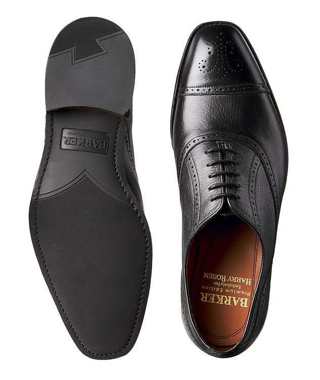Cap-Toe Deerskin Oxford Brogues picture 3