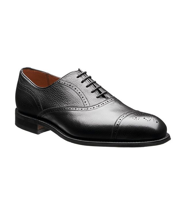 Cap-Toe Deerskin Oxford Brogues picture 1