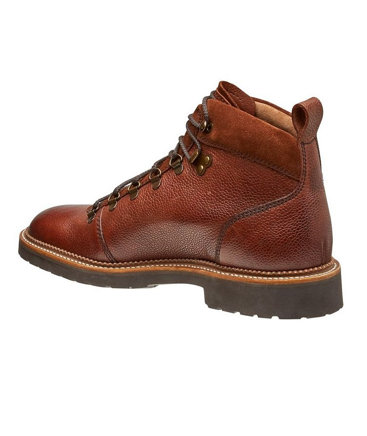 Balmoral Tumbled Leather Alpine Boots image 1