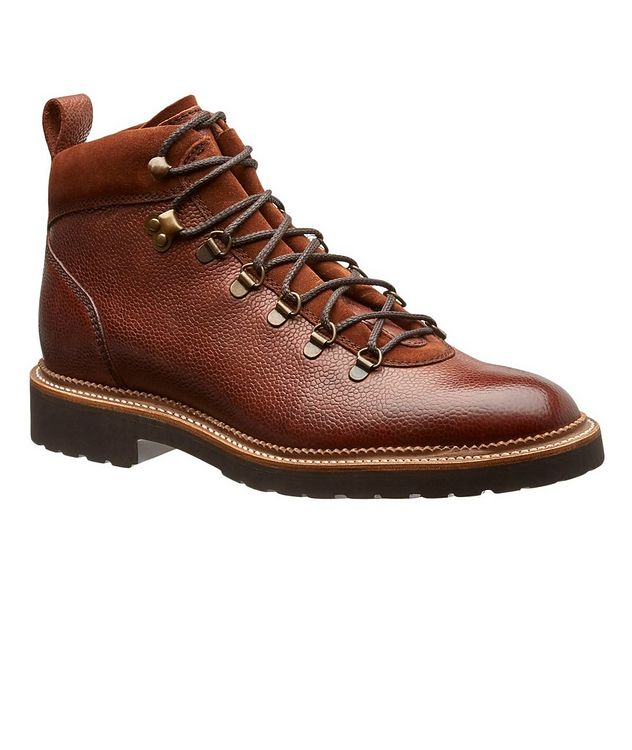 Balmoral Tumbled Leather Alpine Boots picture 1
