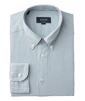 Eton Soft Contemporary Fit Houndstooth Shirt