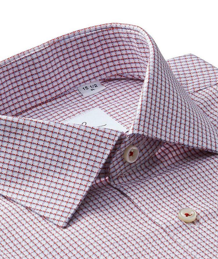 Chemise habillée quadrillée en coton image 1