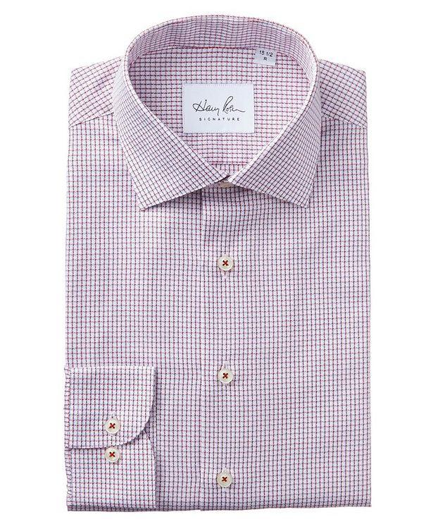 Chemise habillée quadrillée en coton picture 1
