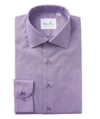 Harry Rosen Signature Bird's Eye-Printed Cotton Dress Shirt