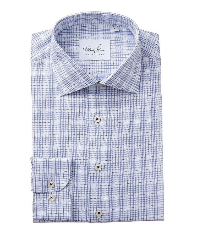 Chemise habillée en coton à carreaux image 0