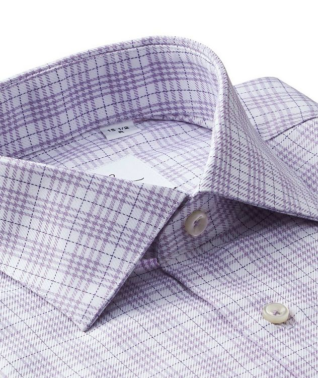 Windowpane-Checked Dress Shirt picture 2