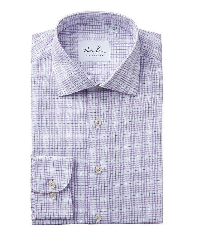 Windowpane-Checked Dress Shirt picture 1